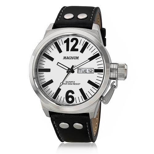 Relógio Masculino Magnum Analógico MA31524Q Preto