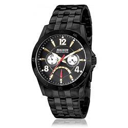 309fb8562e7 Relógio Masculino Magnum Analógico MA33184P Aço Negro