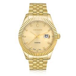 2aec4851407 Relógio Constantim Diamond Gold Analógico 6311GB-B-G Dourado