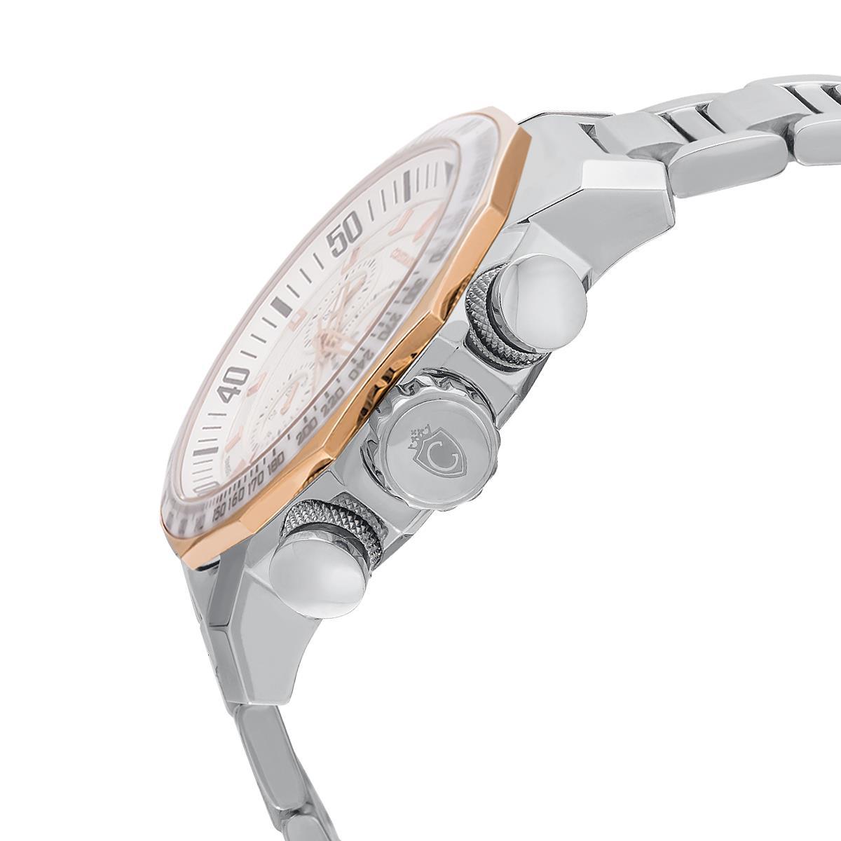 89fd21fd2fc Relógio Masculino Constantim Boss White Analógico 6188G-W Aço