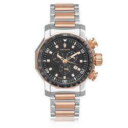 fea4bda48e3 Relógio Masculino Constantim Boss Executive Silver Black Rose Analógico  6188G-A-MRB Aço Rose