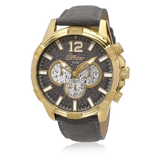 87828d441d09d Relógio Masculino Condor Analógico COVD33AP 2P Couro