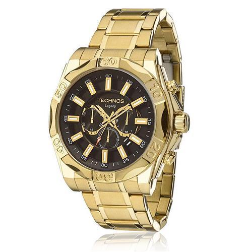 c070cc346f1 Relógio Masculino Technos Classic Legacy Analógico JS25BC 4P Dourado