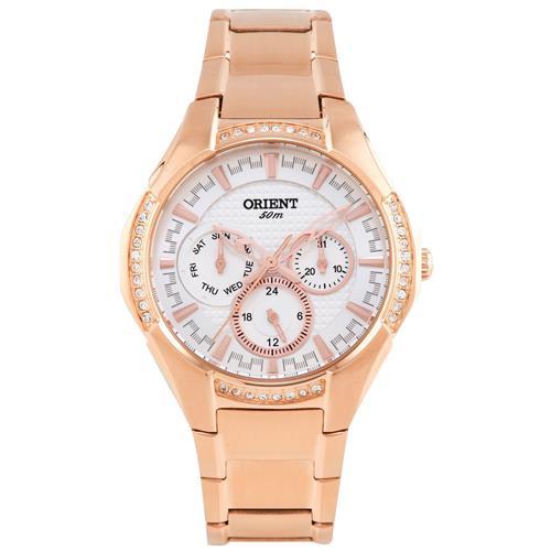 7cfab1567d2 Relógio Feminino Orient Eternal Analógico FRSSM014 S1RX Aço Rose
