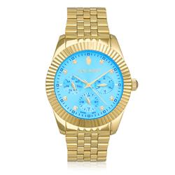 7aa5fc80735 Relógio Feminino Constantim Gold Analógico 23498 com cronógrafo
