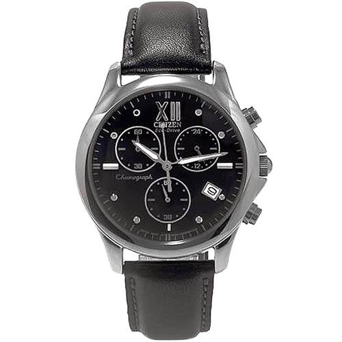 495da1df7a5 Relógio Feminino Citizen FA2080-01E pulseira em couro preto