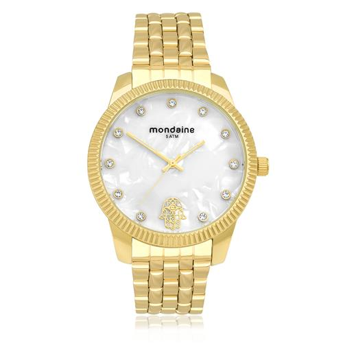 Relógio Feminino Mondaine Analógico 76579LPMKDE2 Dourado