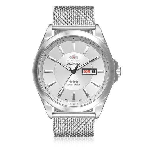 ebab1fda90a Relógio Masculino Orient Automático 469SS056 S1SX Aço