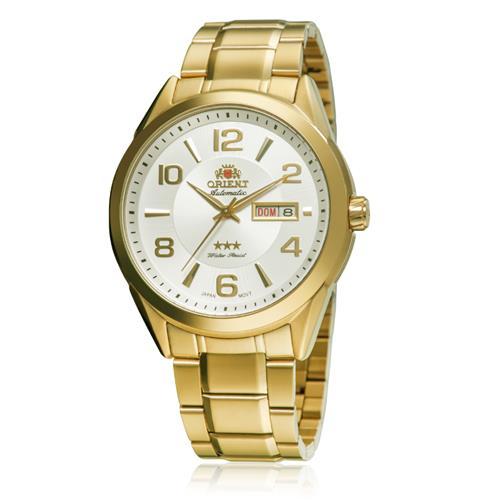9a416def0ec Relógio Masculino Orient Automático 469GP052 S2KX Dourado