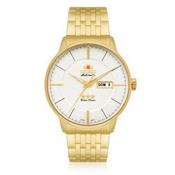Relógio Masculino Orient Automático 469GP061 S1KX Aço Dourado
