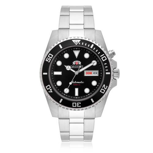 Relógio Masculino Orient Automático 469SS066 P1SX Aço