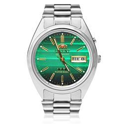 Relógio Masculino Orient Automático 469WA3 E1SX Fundo Verde