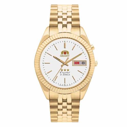 Relógio Masculino Orient Automático 469EC7 B1KX Dourado