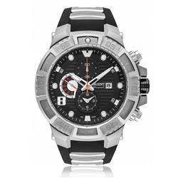 Relógio Masculino Orient Chronograph Analógico MBTPC006 P2PX Borracha
