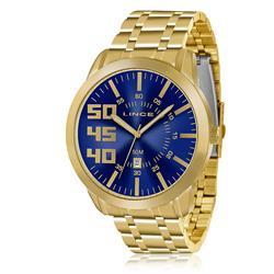 Relógio Masculino Lince Analógico MRG4332S D2KX Fundo Azul