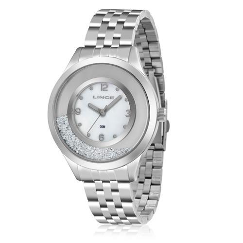Relógio Feminino Lince Analógico LRM4348L B2SX Aço 6fa14c5bcf