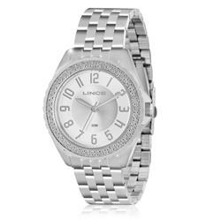 d13e9409c6a Relógio Feminino Lince Analógico LRM4315L S2SX Aço
