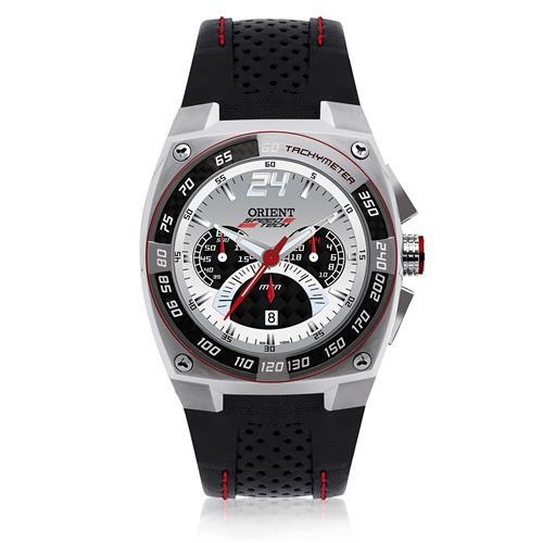 Relógio Masculino Orient Speed Tech Analógico MBSCC024 B2PX Couro