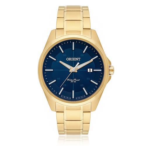 Relógio Masculino Orient Analógico MGSS1128 D1KX Dourado