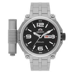 cf0a9af5db7 Relógio Masculino Orient Titanium Automático 469TI004 P2GX Kit com Pulseira  Extra e Lanterna