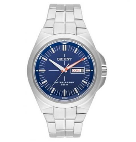 a6112664ac3 Relógio Masculino Orient Analógico MBSS2021 D1SX Fundo Azul