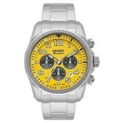 Relógio Masculino Orient Analógico MBSSC148 Y2SX Fundo Amarelo