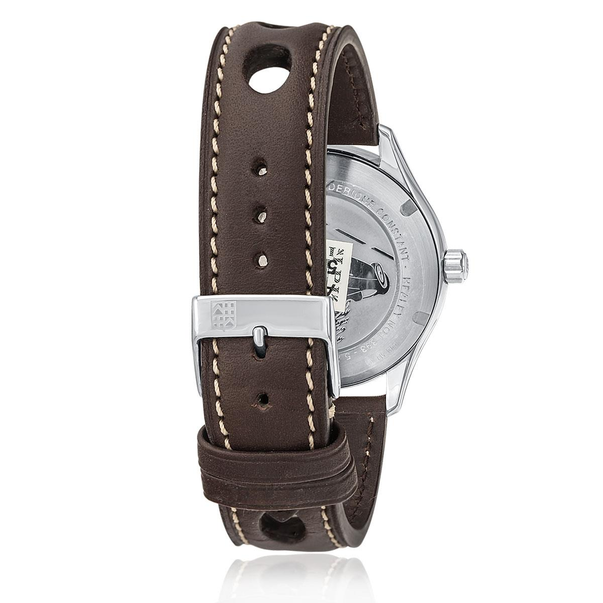 a40b841fd64 Relógio Masculino Frederique Constant Vintage Healey Automatic Analógico  WF20013S Marrom