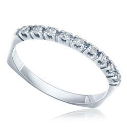 Meia Aliança de Diamantes, Ouro Branco