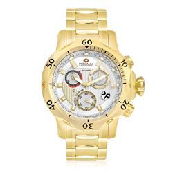 Relógio Masculino Swiss Precimax Analógico PX15022 Dourado