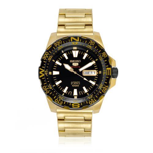 dd444506cb5 Relógio Masculino Seiko 5 Sport Automatico SRP548B1 P1KX Dourado