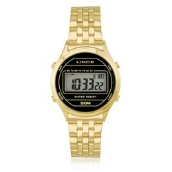 528de44dd05 Relógio Feminino Lince Digital SDPH021L BXKX Dourado