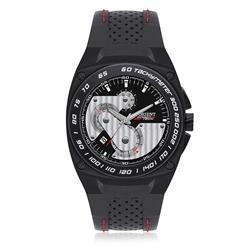 Relógio Masculino Orient Speed Tech Quartz MPSCC001 P1PX Couro Preto
