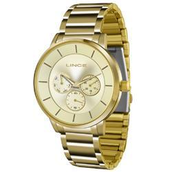 Relógio Feminino Lince Quartz LMGJ054L C1KX Dourado