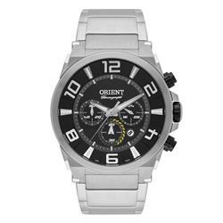Relógio Masculino Orient Chronograph Quartz MBSSC158 P2SX Fundo Preto