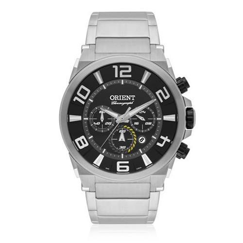 d7a8a320650 Relógio Masculino Orient Chronograph Quartz MBSSC158 P2SX Fundo Preto