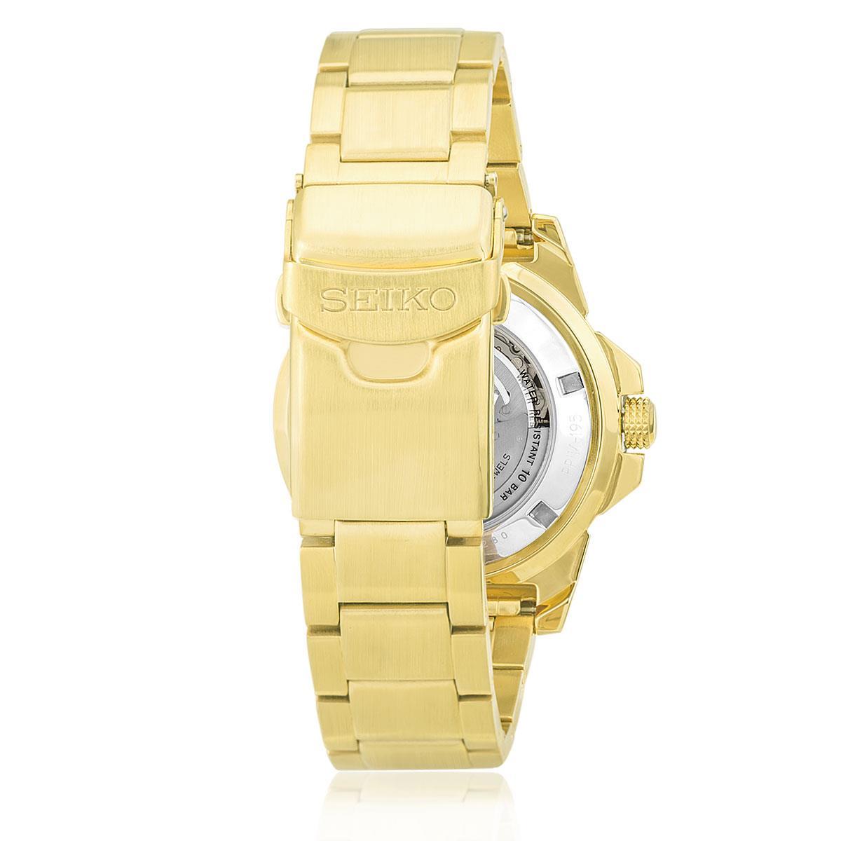 f2974a0c483 Relógio Masculino Seiko 5 Sport Analógico SRP690B1 P2KX Automático com  pulseira dourada