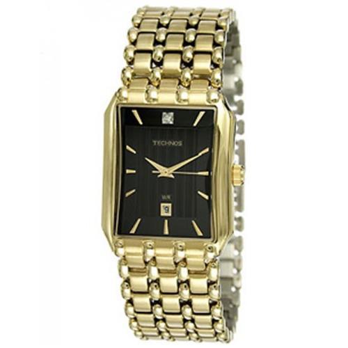 183618ce0b2 Relógio Feminino Technos Elegance Boutique Analógico 1N12AR 4P Fundo Preto