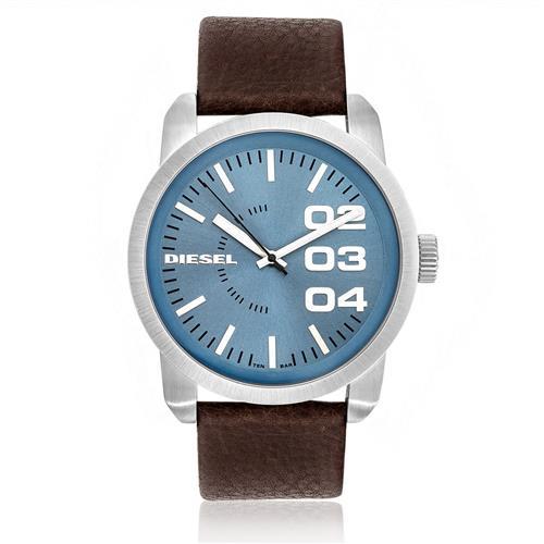 Relógio Masculino Diesel Analógico IDZ1512/Z Couro Marrom