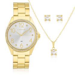 Relógio Feminino Lince Analógico LRG4283L KT34 Aço D.. e3e1a75a3f