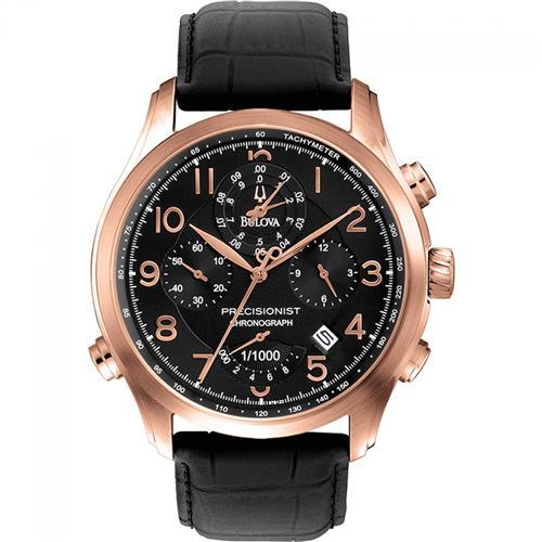 0f93a9f27e1 Relógio Masculino Bulova Precisionist Analógico WB31747P Aço Rose