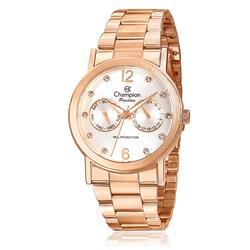 Relógio Feminino Champion Passion Analógico CH38191Z Aço Rose com cristais