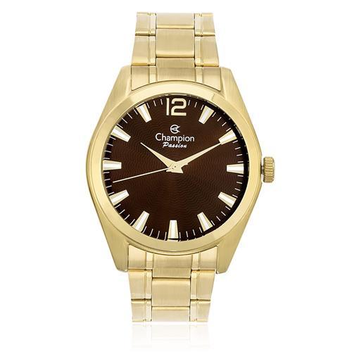Relógio Feminino Champion Passion Analógico CN29865R Fundo Marrom