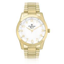 Relógio Feminino Champion Crystal Analógico CN26902H Dourado com Visor Bisotê