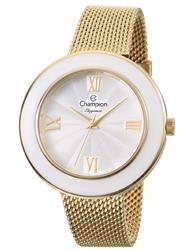 Relógio Feminino Champion Elegance Analógico CN27385H Dourado