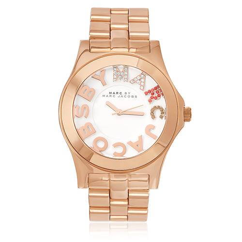 4d18dcc3d2f4c Relógio Feminino Marc Jacobs Blade Rose Analógico MBM3138