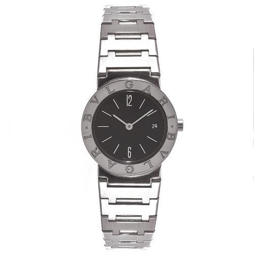 5695fd71135 Relógio Feminino Bvlgari Analógico BB26SSD Fundo Preto