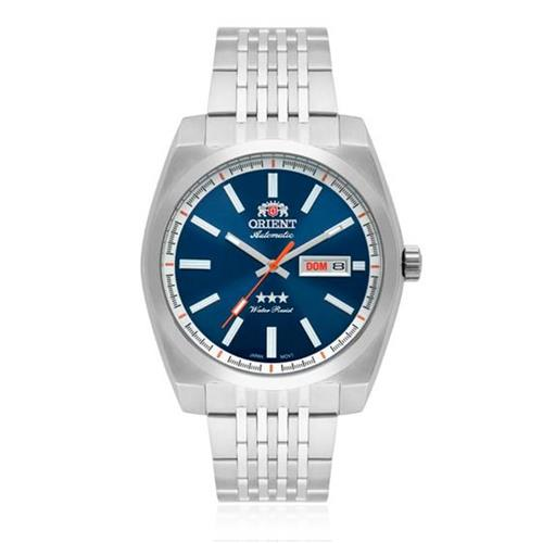 041a2d7620f Relógio Masculino Orient Automatic Analógico 469SS070 D1SX Fundo Azul