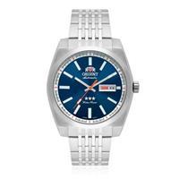 Relógio Masculino Orient Automatic Analógico 469SS070 D1SX Fundo Azul