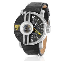 Relógio Masculino Champion Neymar Jr. Star Automático NJ30006Y Couro Preto