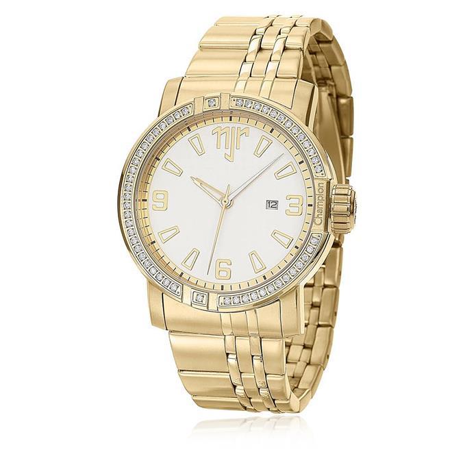 Relógio Feminino Champion Neymar Jr. Sporty NJ38044H Dourado   Joias Vip 2268ee3b32